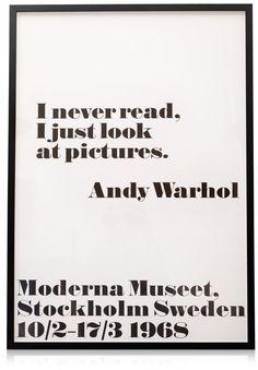 Oliver Bonas Wall Art by Andy Warhol