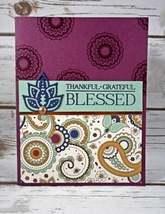 Paisleys & Posies with a copper accent - Stampin' Studio
