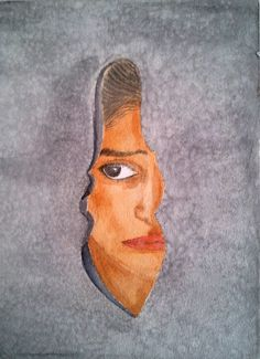 Let her Free - Original Watercolor Paint - Prints Available by PinarBelendir on Etsy