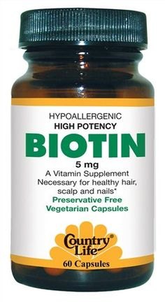 Organic, vegetarian Biotin. I've just noticed a larger amount of hair loss in the shower and around the house haha I shed a lot! so I've been taking Biotin to not only help stimulate good hair growth but to also help reduce the shed affect from teasing, straightening, blowdrying you name it. I have to say this has really made quite a difference. My hair is a lot thicker to get through with a comb and I feel the difference in weight, as though my hair feels heavier, not to mention my hair just...