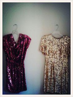 glittery dresses