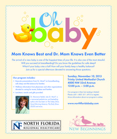 Oh Baby - Free Event in #Gainesville Florida.