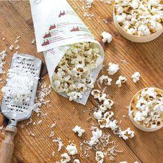 Parmesan and Black Pepper Popcorn | Williams-Sonoma ~ Taste