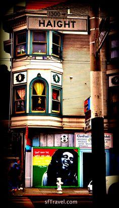 Haight Street Bob Marley