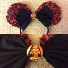 Pocahontas floral ears