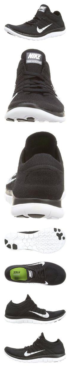 sports shoes 9f4c5 a1093  120 - Nike Women s Free Flyknit 4.0 Black White Dark Grey Running Shoe 9  Women US  shoes  nike  2014