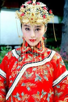 #Professionalimage #EventPhotography ~ Chinese wedding headdress