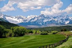 one of my favorite places!  the San Juan Mountains of Colorado (near Ridgway)