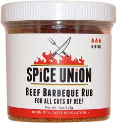 Spice Union Beef Barbeque Rub, 4 Ounce >>> Click on the image for additional details.