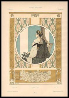 Heinrich Lefler (1863 - 1919).  Gerlachs Allegorien: Musik - Tanz. [Pinned 22-iii-2015]