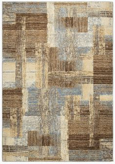 Rizzy Home Bennington Collection Loomed Double Pointed Designs Area Rug, Blue/Ivory/Brown * Continue to the product at the image link. (This is an affiliate link and I receive a commission for the sales) 3d Max, Geometric Rug, Carpet Design, Blue Ivory, Rugs On Carpet, Stair Carpet, Textures Patterns, Blue Area Rugs, Digital Prints