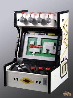 Bomberman Arcade Game MOC