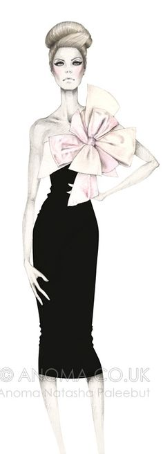 Fashion Illustration by Anoma