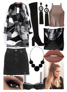 """""""Untitled #1282"""" by hannahgage1 on Polyvore featuring Dolce&Gabbana, Oscar de la Renta, Miss Selfridge, Topshop and Lime Crime"""