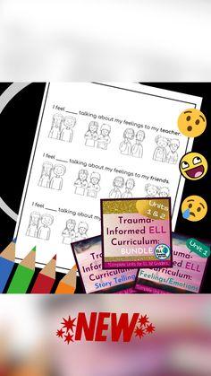 Feelings And Emotions, Ell, Talk To Me, Trauma, Curriculum, Teacher, The Unit, Resume, Professor