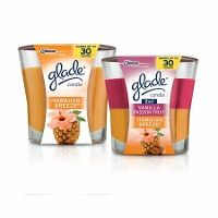Save up tp $3.00 when you buy two+ GLADE® 4 oz Jar Candles