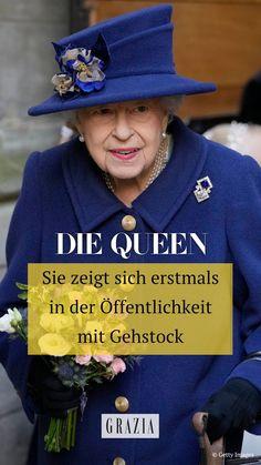 Trotz ihres hohen Alters kann vom Ruhestand bei Queen Elizabeth II. keine Rede sein. Doch wie neue Fotos nun beweisen, fällt es ihr langsam immer schwerer, ihre Rolle ganz ohne Unterstützung durchzuführen. Alle Details haben wir hier für euch zusammengefasst. #grazia #grazia_magazin #queenelizabeth #royals Die Queen, Elizabeth Ii, Bucket Hat, Hats, Fashion, Retirement, Killed In Action, Moda, Bob