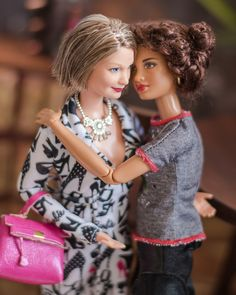 Image may contain: 3 people Barbie Dress, Barbie Clothes, Barbie Stuff, Barbie Doll, Pretty Dolls, Beautiful Dolls, Barbie Happy Family, Barbie Life, In Vino Veritas