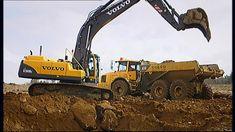 Met een graafmachine kan heel diep worden gegraven. Maar hoe werkt zo een grote machine dan?