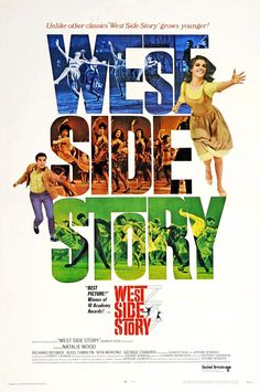 """http://mezquita.uco.es/record=b1509787~S6 """"West Side Story"""" Nunca se había hecho una película así: la de una historia trágica con música y baile. Basada en Romeo y Julieta y adaptada para describir los conflictos de unas bandas rivales de NuevaYork."""