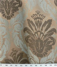 love this fabric, particularly as suggested for window treatments