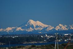 Mt Baker from Colwood BC