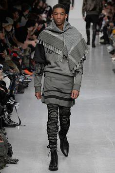 KTZ 2017 Fall/Winter Collection Runway Show London Fashion Week Men's Winter 2017, Fall Winter, Urban Fashion, Mens Fashion, Man Skirt, London Fashion Week Mens, Male Fashion Trends, Androgynous Fashion, Men Design