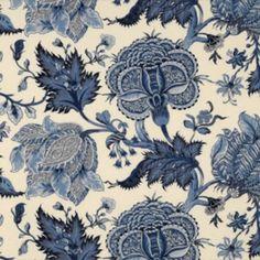 Scalamandre PARADISE MULTI HORIZON BLUE AND NAVY Fabric