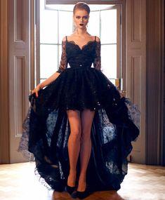 Black evening dresses, long prom dresses, long black evening dresses with lace floor-length straps sale online Gorgeous Prom Dresses, Elegant Prom Dresses, Black Wedding Dresses, Cheap Prom Dresses, Formal Evening Dresses, Lace Wedding, Evening Gowns, Dress Prom, Dresses 2016