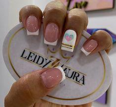 Precious Nails, French Manicure Nail Designs, Ely, Holiday Nails, Beauty Nails, Erika, Valentines, Creative Nails, Polish Nails