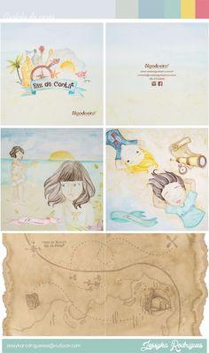 Ilustrações para Catalogo Infantil  da Algodoeiro.