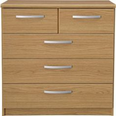 Buy Collection New Hallingford 3+2 Drawer Chest - Oak Effect at Argos.co.uk, visit Argos.co.uk to shop online for Chest of drawers