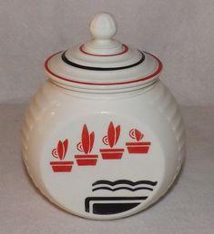 1940's Anchor Hocking grease jar