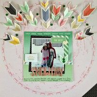 Snow Day by MelissaJV from our Scrapbooking Gallery originally submitted 07/10/13 at 06:38 AM