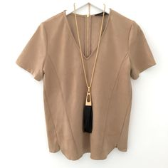 """Honey Suede Top"" $48 ShopAliya.com  #suede #nowtrending #fallessentials #shopaliya #shopmycloset #ootd"