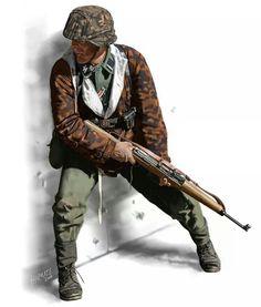 Waffen SS Unteroffizier