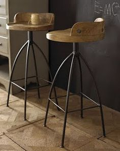 [Cool Industrial Stools]