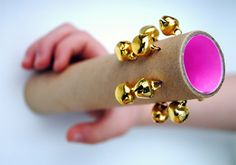 N - I think all your kids should have these. Perhaps I'll send them as a Labor Day gift. DIY Tubular Cardboard Bells for Kids
