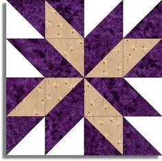 Purple quilt More