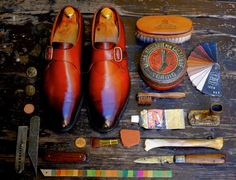 http://chicerman.com  dandyshoecare:  Life is too short to live it in half. Choose the best for your shoes-Dandy Shoe Care!  #menshoes