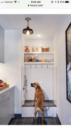 dog shower in laundry room utility sink & dog shower in laundry room ; dog shower in laundry room diy ; dog shower in laundry room garage ; dog shower in laundry room ideas ; dog shower in laundry room built ins ; dog shower in laundry room utility sink Mudroom Laundry Room, Laundry Room Design, Laundry Area, Small Laundry, Dog Washing Station, Dog Station, Laundry Station, Snack Station, Dog Rooms