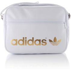 Adidas Originals Adicolor Airliner Bag ($56) found on Polyvore