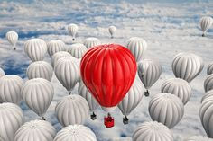 Photo about Leadership concept with rendering red hot air balloon. Image of rendering, leadership, concept - 78652711 Leadership Coaching, Core Values, Great Leaders, Social Media Content, Hot Air Balloon, Personal Branding, Balloons, Concept, Medical Wallpaper