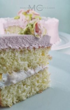 Bizcocho Blanco, White Cake Recipe | Mari's Cakes