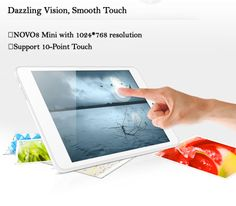 osell wholesale dropship AINOL NOVO8 Mini Dual Core 7.85inch Tablet PC Android 4.1 HDMI 10-Point $76.31