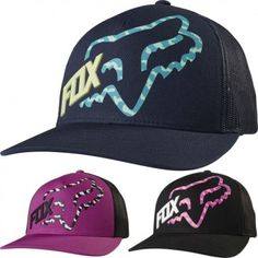 0a47165f5d6 Fox Racing Reacted Womens Trucker Ladies Caps Motocross Snapback Hats Fox  Racing