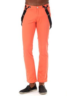Something Strong Mens Slim fit pants in Salmon, 36 Mens Dress Pants, Men Dress, Slim Fit Pants, Slim Man, Workout Pants, Parachute Pants, Salmon, Strong, Fitness