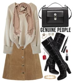 """""""Genuine People"""" by oshint ❤ liked on Polyvore featuring Tom Ford, Balenciaga, Marc Jacobs, MAC Cosmetics, Essie, Tiffany & Co. and Kate Spade"""