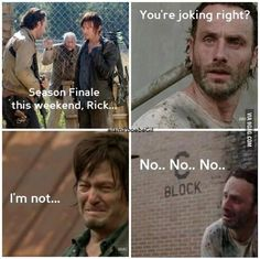 The Walking Dead Season Finale!