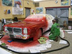 Paint shop Diorama